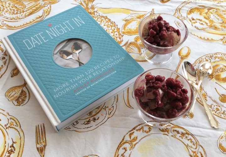 Date Night book dessert