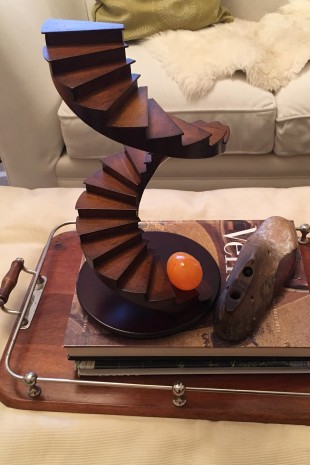 Staircase model and egg